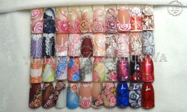 вебинар по розам на ногтях