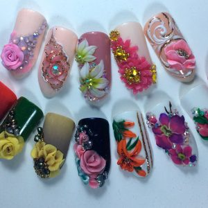 Plastiline flowers