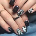 японские дизайны ногтей